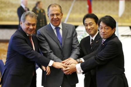 Japón y Rusia estrechan cooperación en temas de seguridad regional - ảnh 1