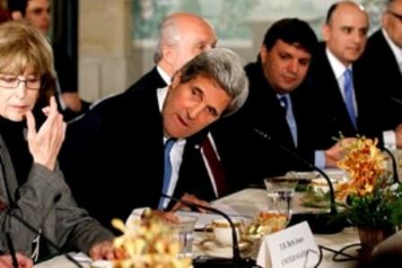 Estados Unidos impulsa acuerdo de paz entre Israel y Palestina - ảnh 1