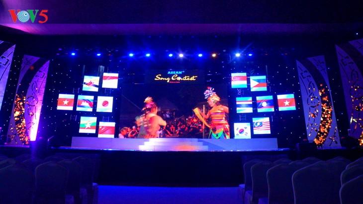 Demi-finale du concours de chant de l'ASEAN+3 - ảnh 1