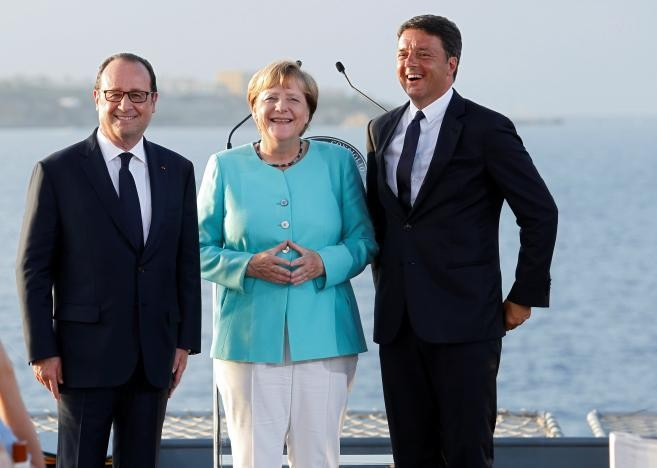 Germany, France, Italy seek ways to restore EU after Brexit  - ảnh 1