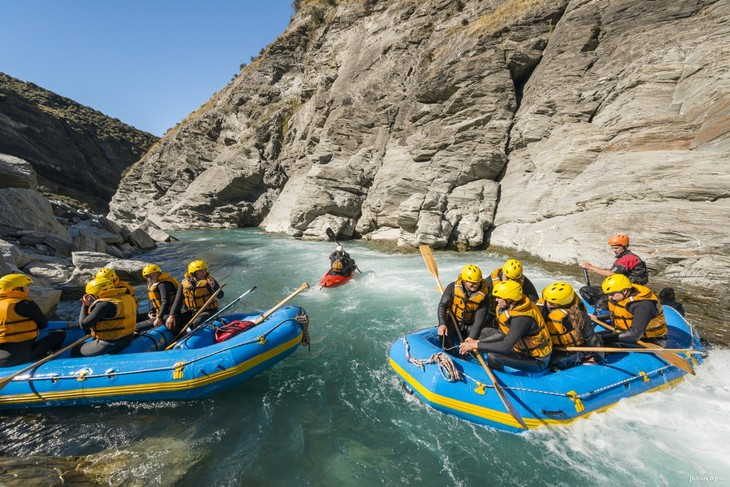 New Zealand water rafting – adventurous in the most exciting way  - ảnh 1