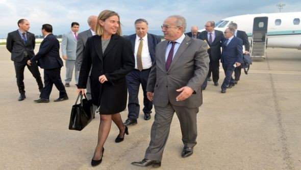 EU official visits Algeria - ảnh 1
