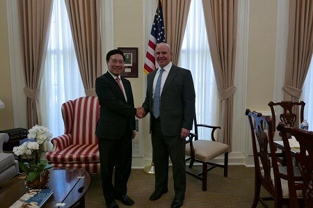 US pledges continual support for comprehensive partnership with Vietnam   - ảnh 1
