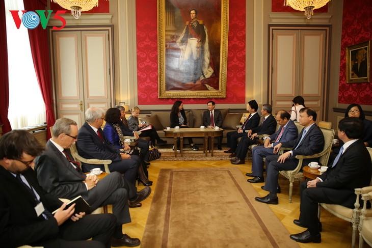 Vietnam, Belgium agree to expand bilateral cooperation - ảnh 1