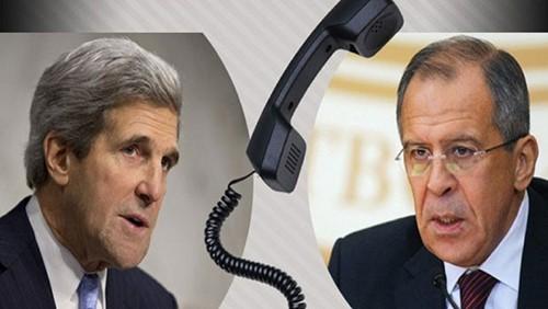 俄美外长就叙利亚问题通电话 - ảnh 1