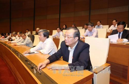 越南国会公布国会民族委员会主席、一些委员会主任和国家审计长选举结果 - ảnh 1