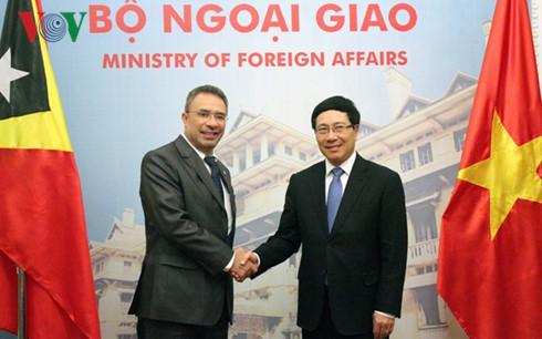 东帝汶外交与合作部长埃尔纳尼•科埃略对越南进行正式访问 - ảnh 1