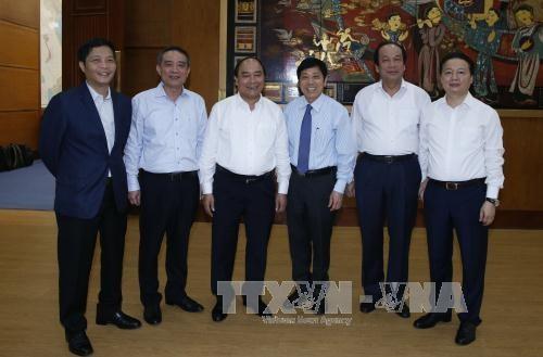 阮春福总理:提高应对气候变化效果 - ảnh 1