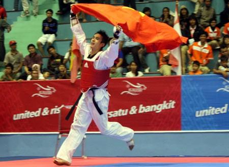 越南队夺得2016亚洲跆拳道锦标赛两枚金牌 - ảnh 1