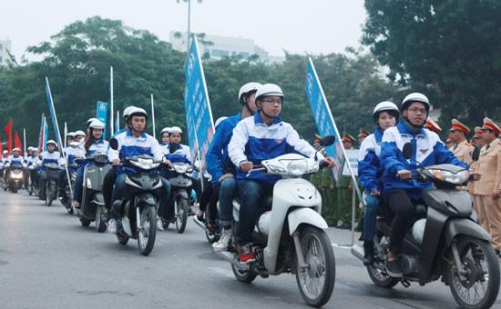 2016年青年与交通文化日在广南省举行 - ảnh 1