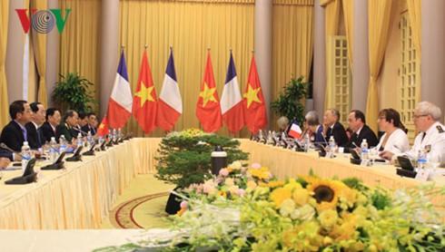越南与法国发表联合声明 - ảnh 1