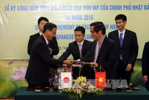 日本政府向越南提供110亿日元ODA - ảnh 1
