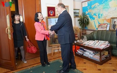 越南共产党代表团访问俄罗斯 - ảnh 1