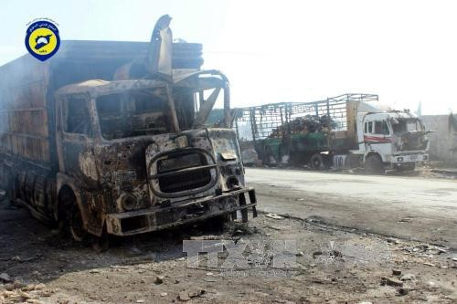 联合国暂停对叙利亚的人道主义援助 - ảnh 1