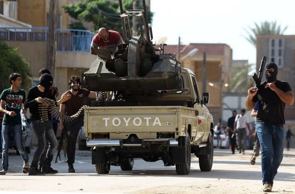 利比亚对立两派在阿拉伯联合酋长国会晤 - ảnh 1