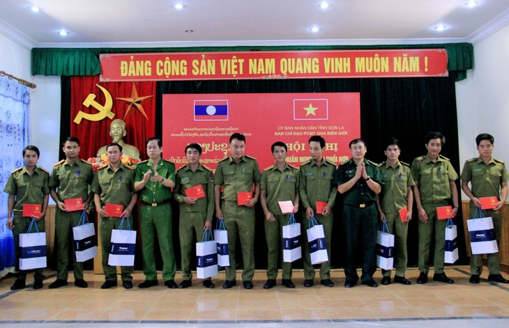 加强越南山萝省与老挝北方各省公安力量的合作 - ảnh 1