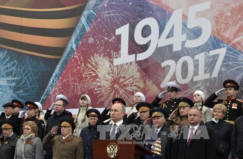 世界各地纪念反法西斯战争胜利72周年 - ảnh 1