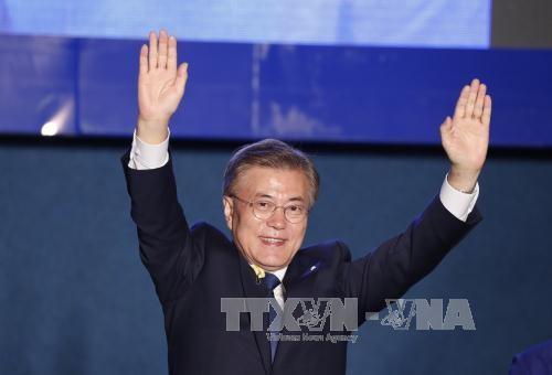 文在寅当选新一任韩国总统 - ảnh 1