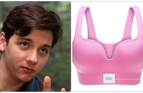 17岁墨西哥男孩发明检测乳腺癌内衣 - ảnh 1