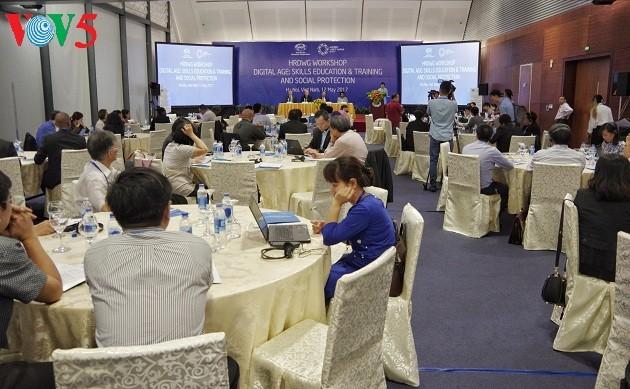 SOM2 APEC:聚焦推动数字贸易和社会扶助 - ảnh 1