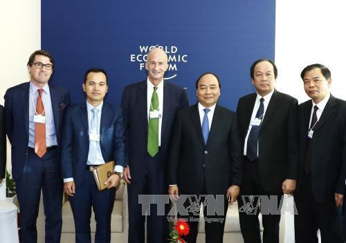 阮春福接过2018年WEF ASEAN峰会主办权 - ảnh 1