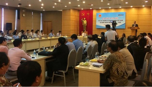 越南驻外代表机构首席代表推动经济对接加快融入国际进程 - ảnh 1
