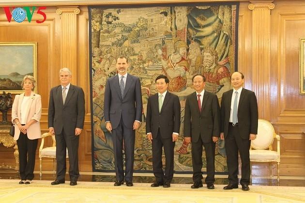 越南愿为西班牙企业创造便利条件 - ảnh 1