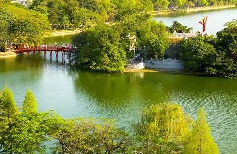 2017年头4个月河内共接待国际游客180万人次 - ảnh 1