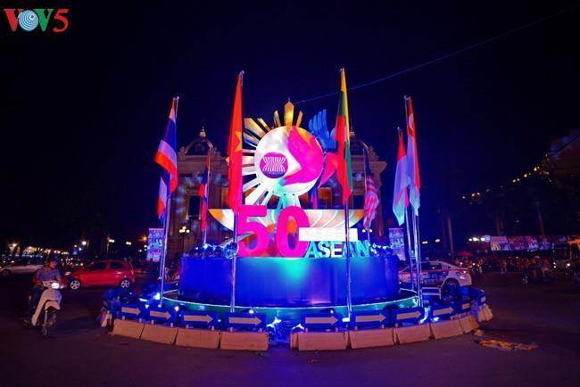 东盟成立50周年纪念活动在越南多个地方举行 - ảnh 2