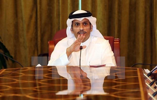 """卡塔尔敦促以""""文明""""方式解决海湾风波 - ảnh 1"""