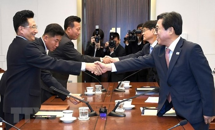 ASIAD 2018:韩国和朝鲜同意共同组队参赛 - ảnh 1