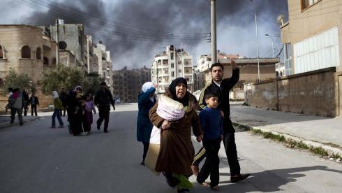 Außenminister der arabischen Länder beraten die Lage in Syrien - ảnh 1