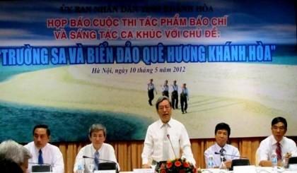 Schreibwettbewerb über die Inselgruppe Truong Sa gestartet - ảnh 1