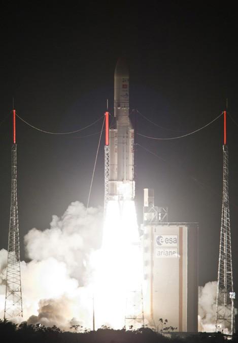 Satellit Vinasat-2 dient der gesellschaftlichen und wirtschaftlichen Entwicklung - ảnh 1