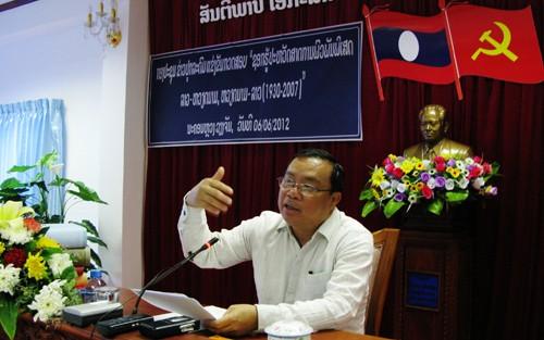 Laos startet Schreibwettbewerb über die Freundschaft mit Vietnam - ảnh 1