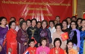 Vize-Staatspräsidentin Nguyen Thi Doan besucht Nahkhon Phanom - ảnh 1