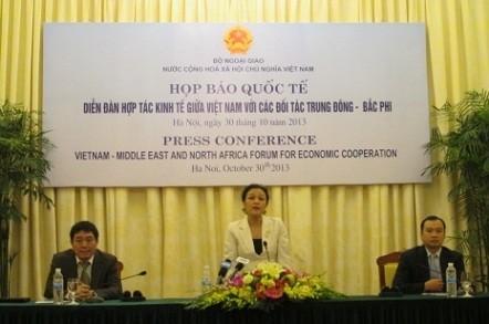 Wirtschaftsforum zwischen Vietnam und Partnern im Nahen Osten und in Nordafrika - ảnh 1