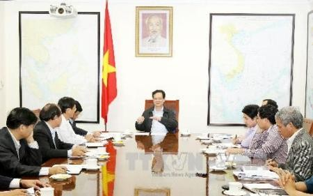 Premier Nguyen Tan Dung besucht Provinzen in Südzentralvietnam - ảnh 1