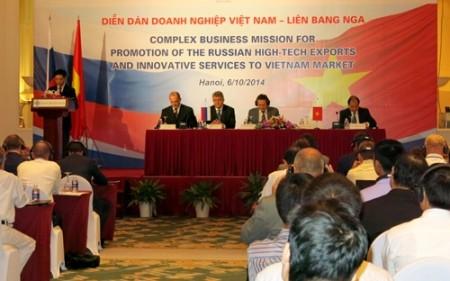 Stärkung der wirtschaftlichen Zusammenarbeit zwischen Vietnam und Russland - ảnh 1
