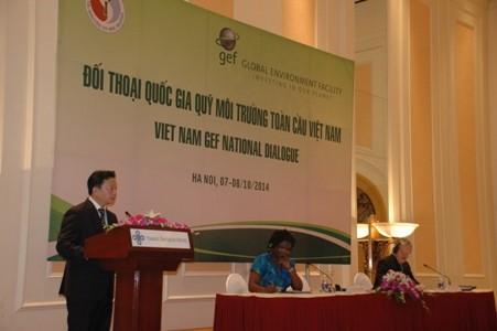 Dialog über den globalen Umweltfonds Vietnam - ảnh 1