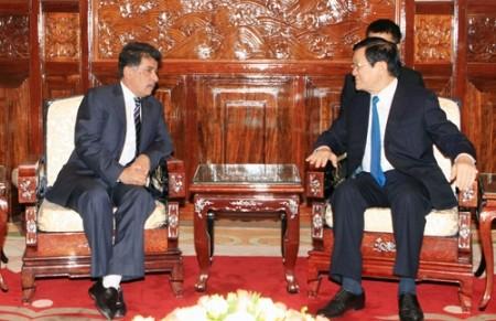 Katarischer Botschafter beendet seine Amtszeit in Vietnam - ảnh 1