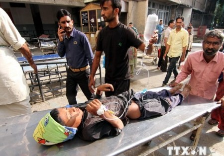 Wieder Schusswechsel in Kashmir zwischen Indien und Pakistan - ảnh 1