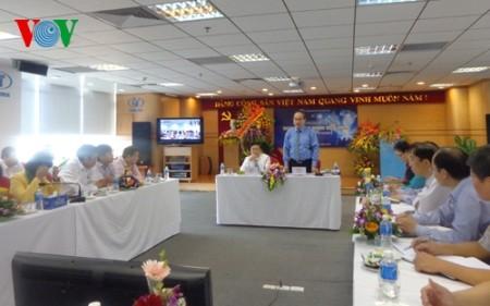 Vorsitzender der Vaterländischen Front Vietnams beglückwünscht Unternehmer zu ihrem Ehrentag - ảnh 1
