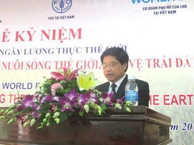 Feier zum Welternährungstag in Vietnam - ảnh 1