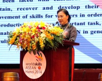 Eröffnung des ASEAN-Berufswettbewerbs - ảnh 1