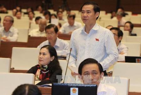 Abgeordneten diskutieren über Gesetze bezüglich der Staatsanwaltschaft und des Volksgerichts - ảnh 1