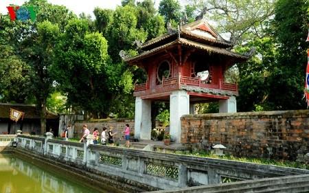 Zehn typische Architektureinrichtungen der Geschichte Hanois - ảnh 11