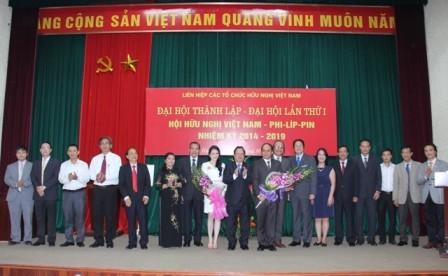 Erste Konferenz der vietnamesisch-philippinischen Freundschaftsgesellschaft - ảnh 1