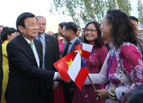 Intensivierung der Beziehungen zwischen Vietnam und Tschechien sowie Aserbaidschan - ảnh 1