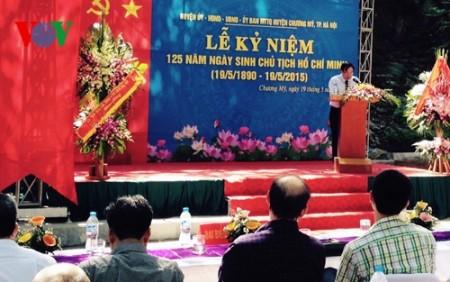 125. Geburtstag des Präsidenten Ho Chi Minh wird im In- und Ausland weiterhin gefeiert - ảnh 2